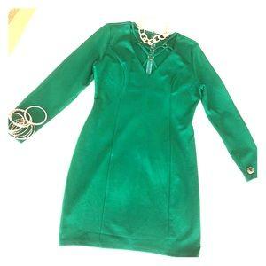 Party mini evergreen dress